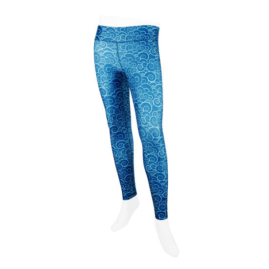 Cloud Break Wahine Compression Legging - Oiwi