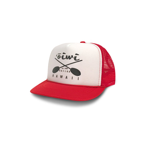 Cross Paddles Retro Trucker Hat (Keiki size)