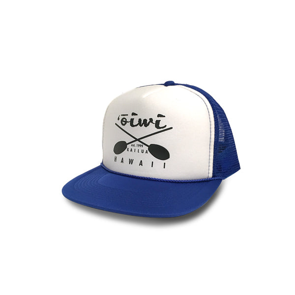 Cross Paddles Retro Trucker Hat - Oiwi