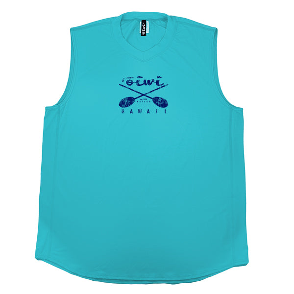 Cross Paddles Sleeveless UPF 50+ Shirt