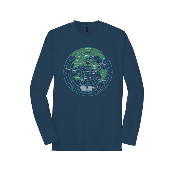 Global Distance Long Sleeve T-shirt - Oiwi