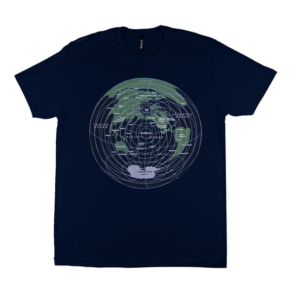 Global Distance T-shirt in Navy - Oiwi