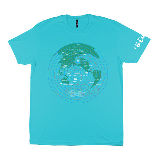 Global Distance T-shirt in Tahiti Blue
