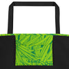 Hala Beach Bag in Green - Oiwi