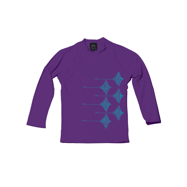 Hihimanu TODDLER Long Sleeve UPF 50+ Shirt - Oiwi