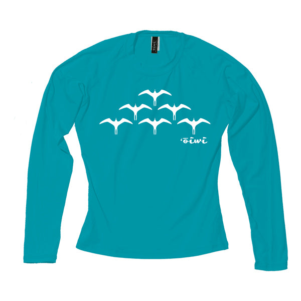 Iwa Birds Wahine Long Sleeve UPF 50+ Shirt