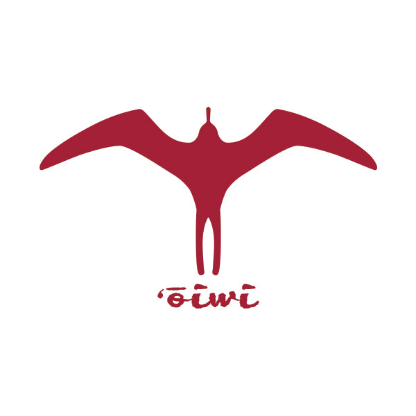 Iwa Bird Sticker - Oiwi