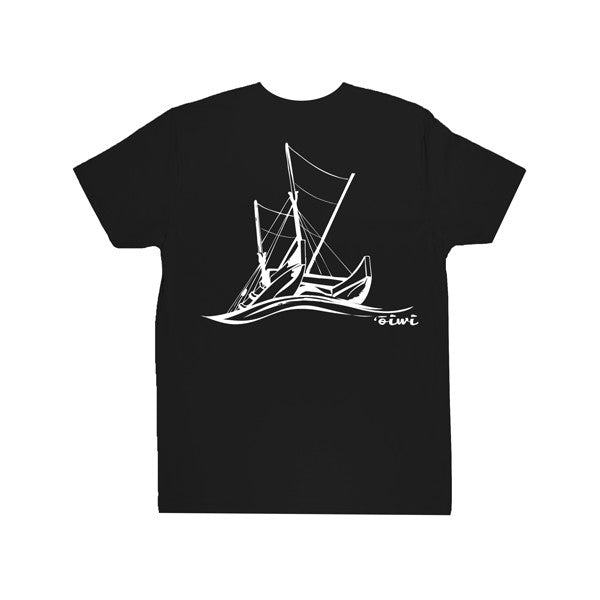 Navigation Kane T-shirt in Black