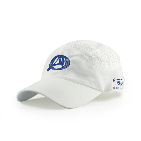 Oiwi Racing Cap in White - 'Ōiwi