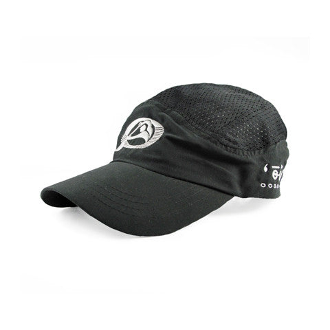 Oiwi Racing Cap in Black - 'Ōiwi