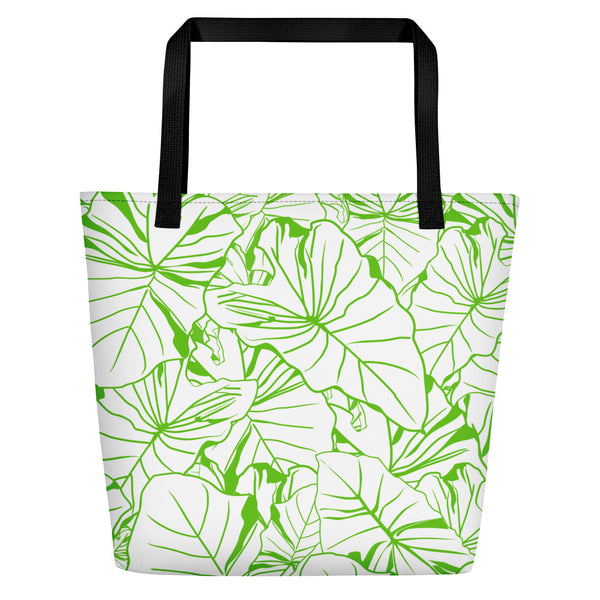 Kalo Beach Bag (white) - Oiwi