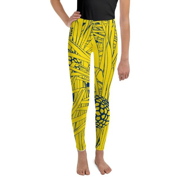 Hala Youth Leggings - Oiwi