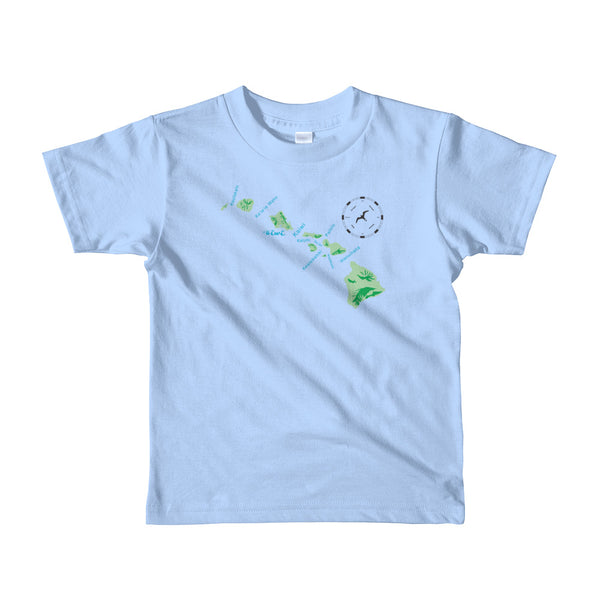 CHANNELS Short sleeve kids t-shirt - Oiwi