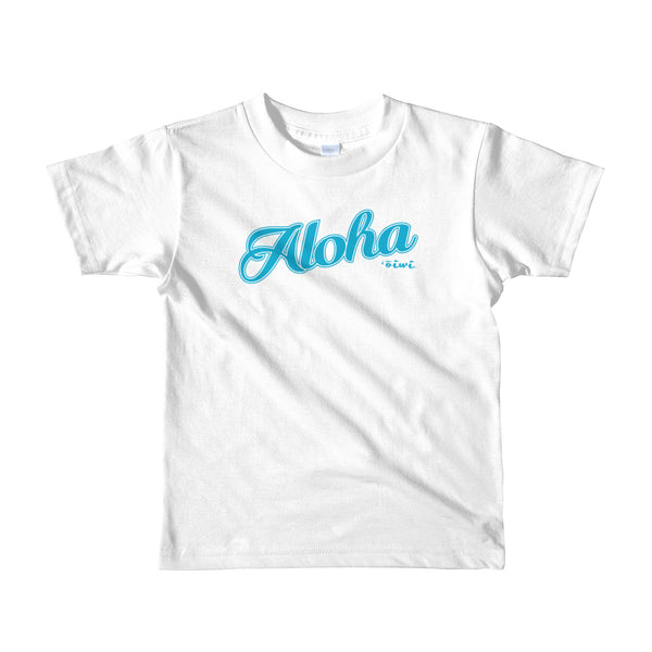 Short sleeve kids t-shirt - Oiwi