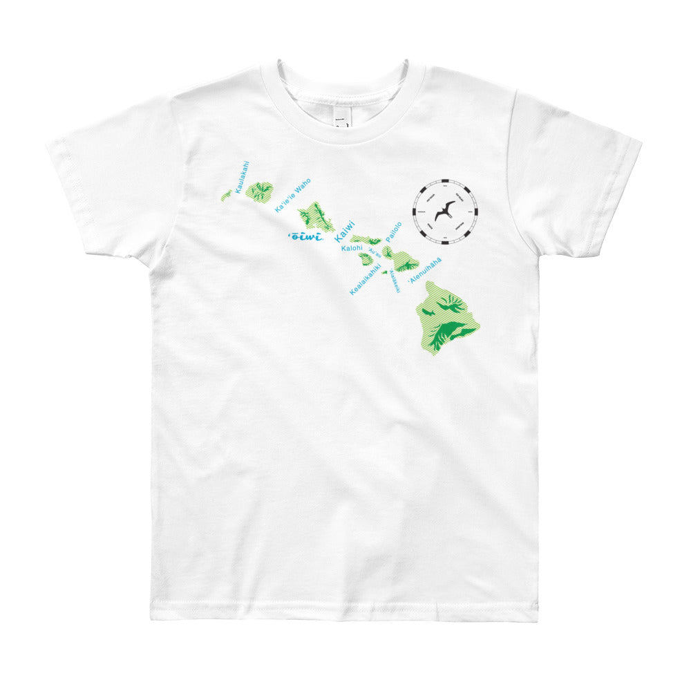 CHANNELS Youth Short Sleeve T-Shirt - Oiwi