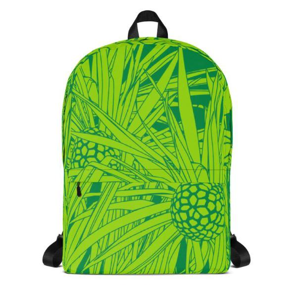 Hala Backpack in Green - Oiwi