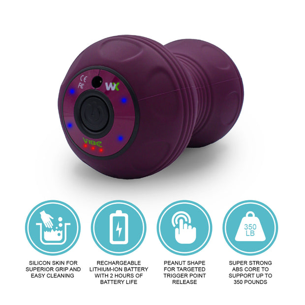 Vibe Peanut - Purple | Vibrating Roller