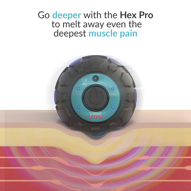 Vibe Hex Pro + CBD Joint and Muscle Rub or Oil