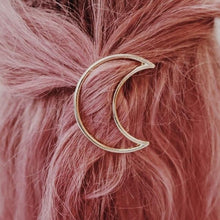 Load image into Gallery viewer, MOON HAIR CLIP ♡