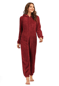 Adult One piece Pajama with butt Flap High