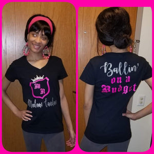 Madame Royale Ballin' on a Budget Tee Shirt