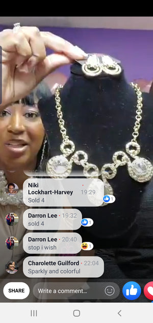 Trina Rose 10/17/19 Thursday Night Paparazzi Live Order