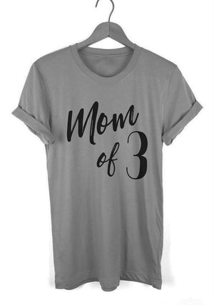 Mom of # T-shirt - Graphic Tee Shirt