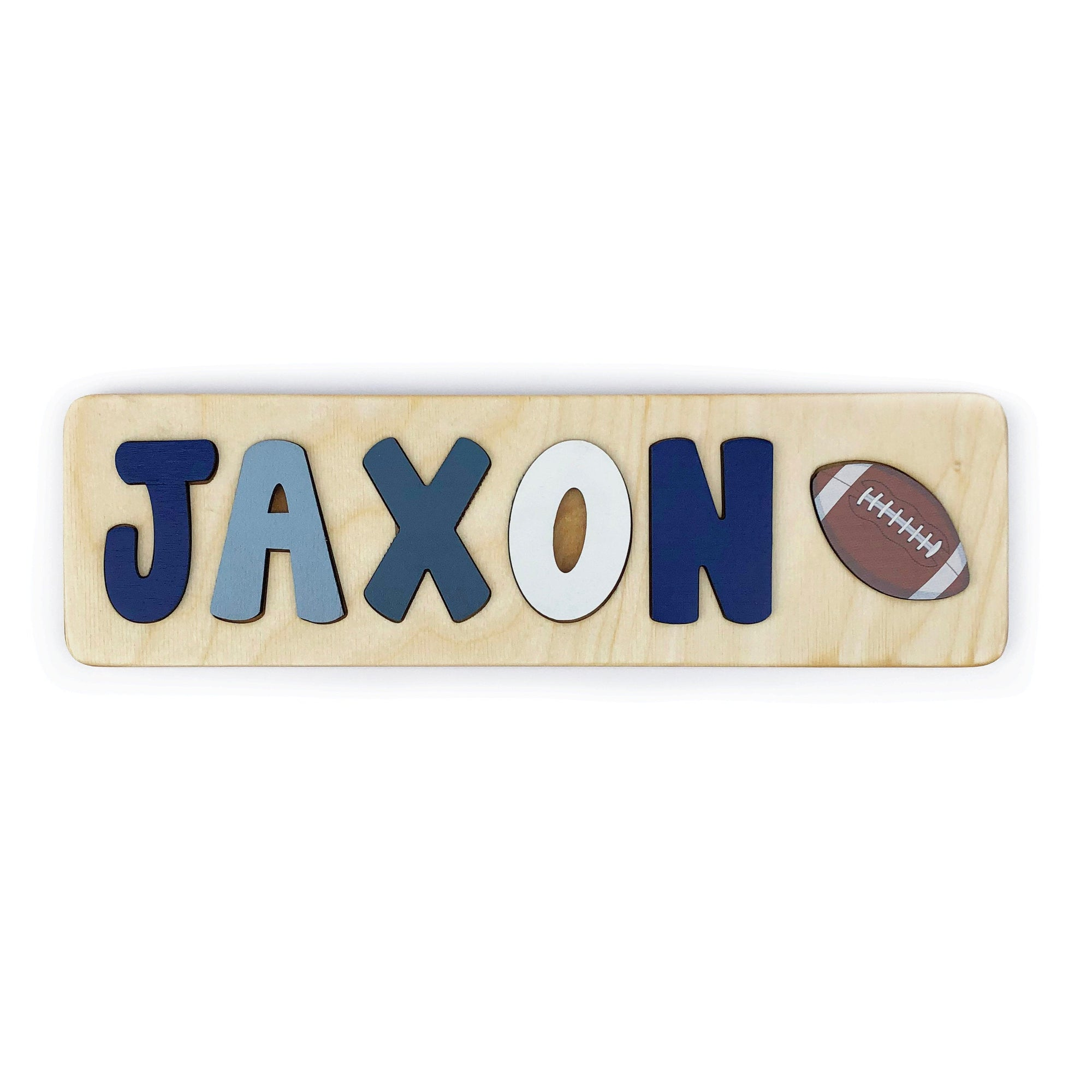Football Puzzle for Toddler Boy, First Birthday Gift, Baby Boy Gift