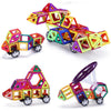 Image of Magnetic Construction Blocks 2pcs/set Car base wheels accessory kit