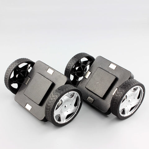 Magnetic Construction Blocks 2pcs/set Car base wheels accessory kit