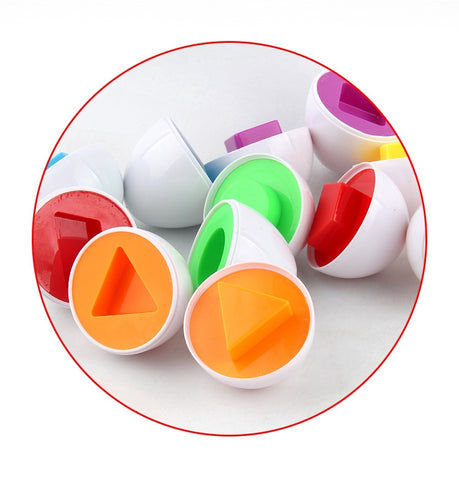Shape Eggs 6 Piece Set