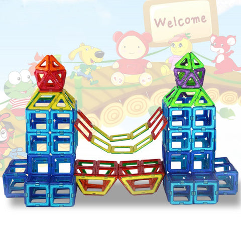 Magnetic Construction Blocks