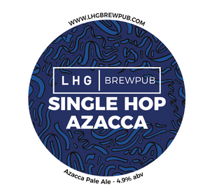 LHG|BREWPUB Single Hop Azacca 30L