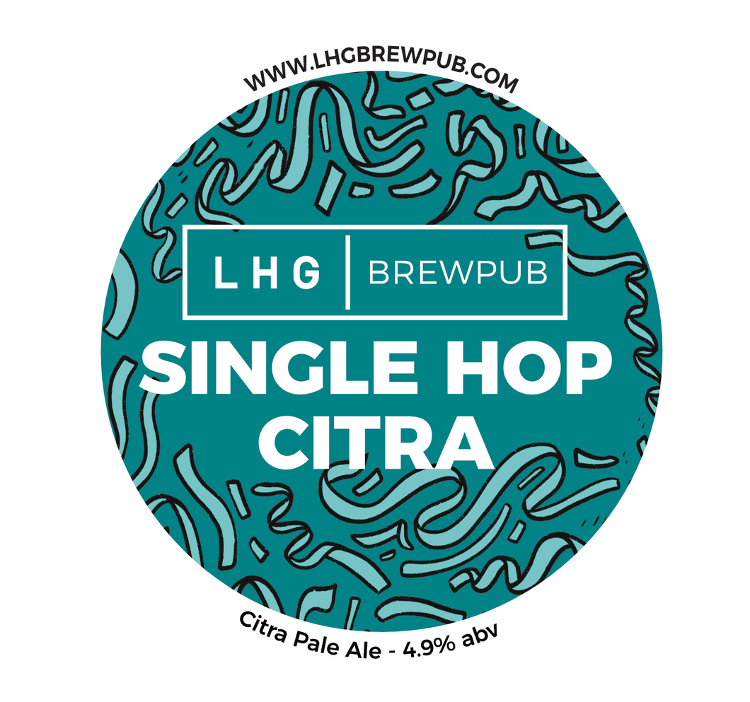 LHG|BREWPUB Single Hop Citra 30L