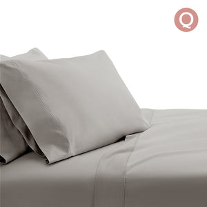 Giselle Bedding Queen Size 1000TC Bedsheet Set - Grey