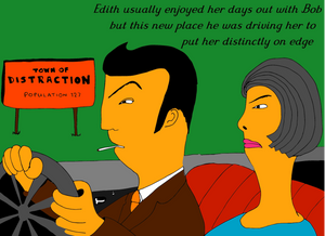 Driving to Distraction greeting card