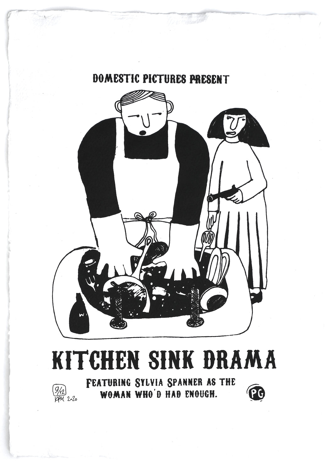 Kitchen Sink Drama print