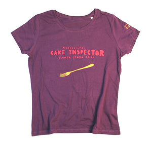 unusual and witty t-shirt for cake fan, unique and cool t-shirt for cake enthusiast
