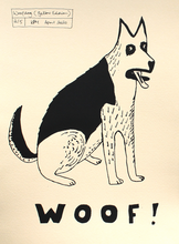 Load image into Gallery viewer, Woof Dog Print