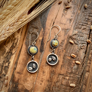 Homegrown Grain Earrings