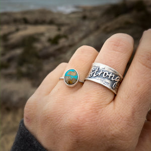 """Be Strong"" Ring"