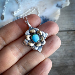 Diamond Bloom Necklace