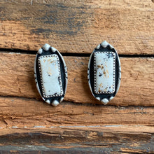 Load image into Gallery viewer, White Buffalo Stud Earrings