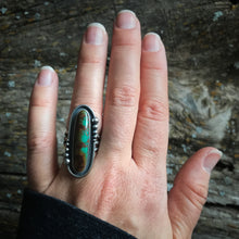 Load image into Gallery viewer, Turquoise Statement Ring