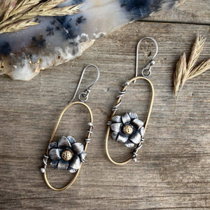 Twin Blooms Earrings