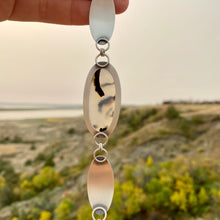 Load image into Gallery viewer, Montana Agate Link Bracelet