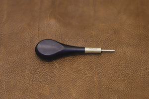 Flat awl - African black wood handle