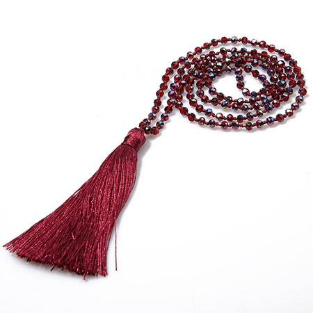 SEASONS TASSLE NECKLACE