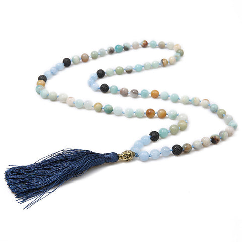 HEAVENS BUDDHA MALA NECKLACE