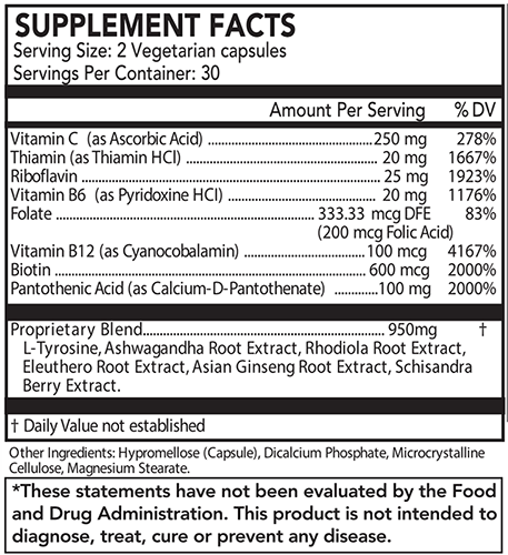 A.M. WOKE SUPPLEMENT FACTS